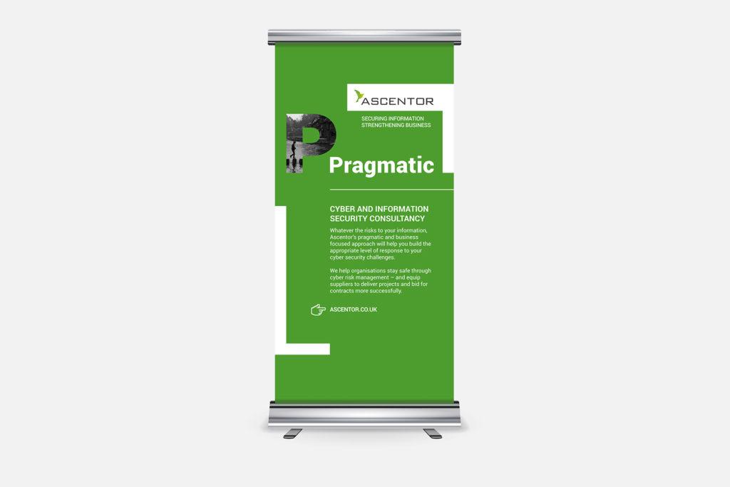 Ascentor Exhibition Roller Banner